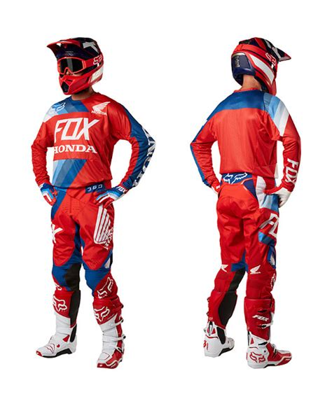 fox honda motocross gear how sick is the fox racing 2018 gear moto related