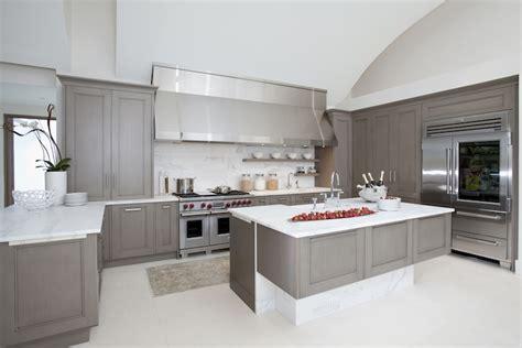 grey modern kitchen cabinets extra wide kitchen hood contemporary kitchen design