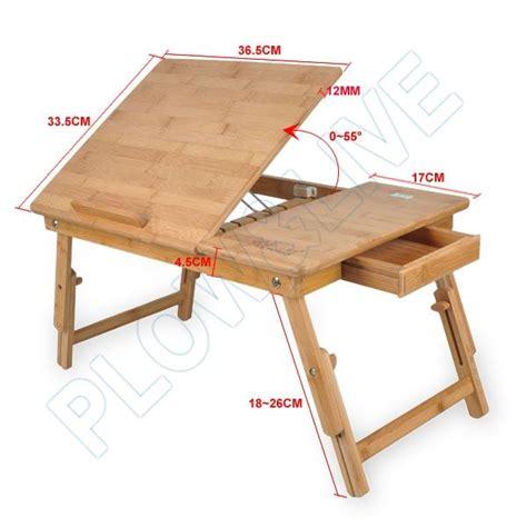 folding lap desk plans wooden portable laptop notebook computer desk table bed