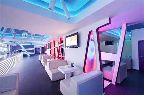 futuristic interior design cafe futuristic design krysha cafe by grosu art studio