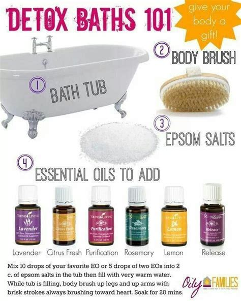 Detox Bath For Cold With Essential Oils by Detox Bath With Essential Oils Tips For Health
