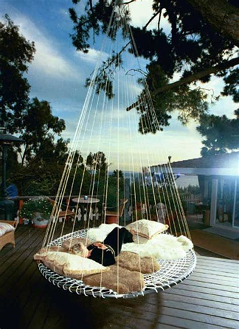 round swing bed 53 incredible hanging beds to float in peace homesthetics