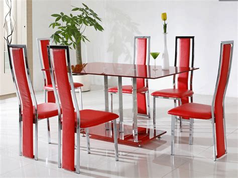 Red Dining Room Table by Red Glass Dining Table Shop For Cheap Tables And Save Online