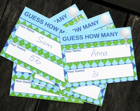 golf punch card template golf birthday invitations decorations golf