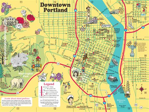 map of portland 187 fountains of portland