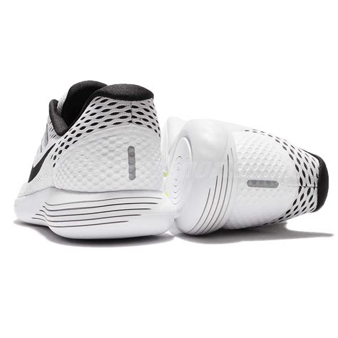 Nike Lunarglide Made In nike lunarglide 8 viii white black running shoes