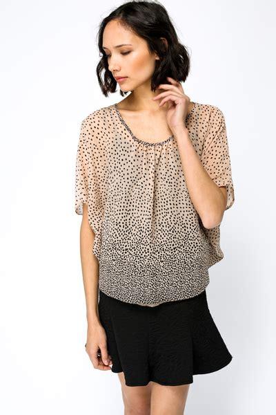Batwing Polka polka dot batwing blouse just 163 5