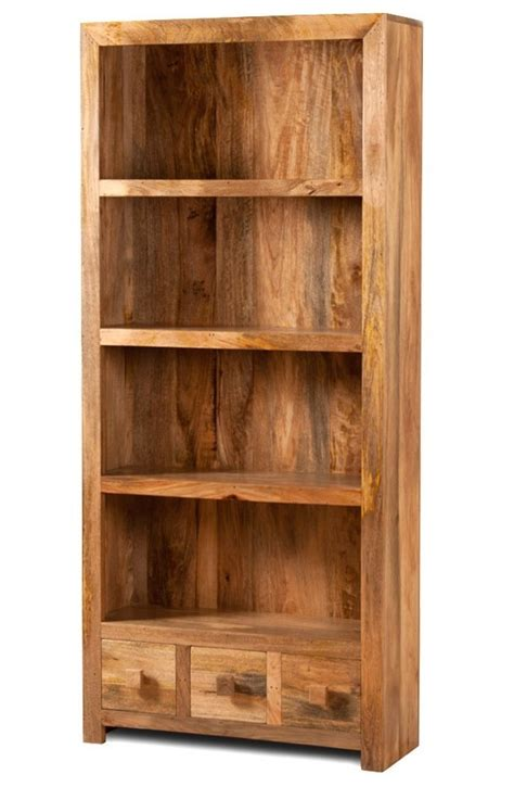 libreria legno naturale libreria etnica legno massello naturale outlet mobili etnici