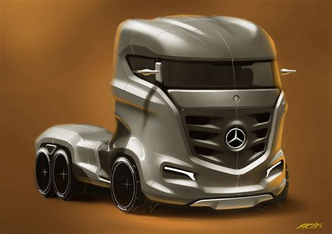 future mercedes truck mercedes benz axor truck concept cars one love