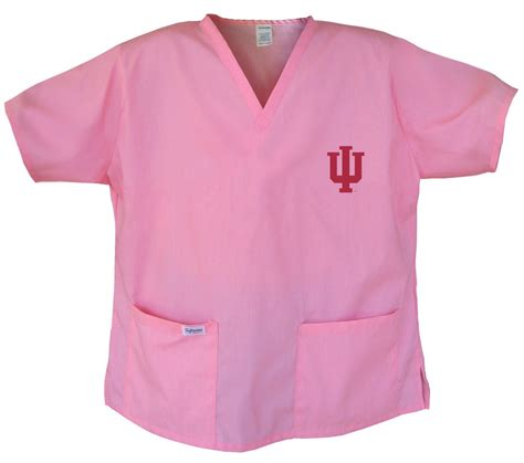 gifts for scrubs fans indiana pink scrubs tops shirt size 2x iu