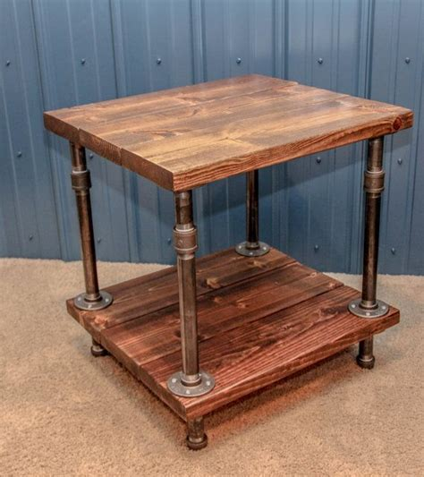 rustic industrial end table 25 best ideas about industrial side table on