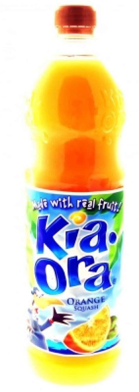 Kia Ora Orange Kia Ora Orange Squash 1 Litre Approved Food