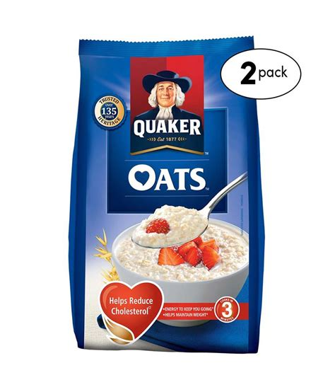 G 2 Pack quaker oats 1000 g pack of 2 buy quaker oats 1000 g pack of 2 at best prices in india