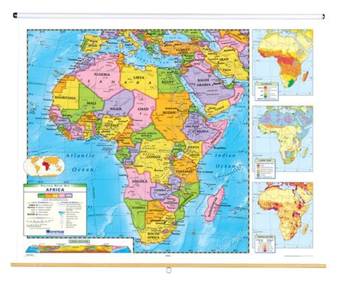 maps social studies and history s nystrom political relief map africa 1398314 decor