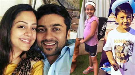 actor goundamani family photos video tamil actor surya and jyothika family photos suriya