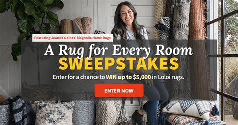 Unlimited Entry Sweepstakes - bhg a rug for every room sweepstakes bhg com loloirugs