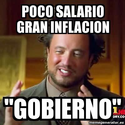 Meme Mexicano - meme ancient aliens poco salario gran inflacion