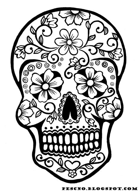 day of the dead skull coloring pages day of the dead skull coloring pages coloring pages