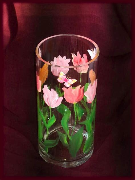 Cat Akrilik Transparan cara menghias vas dengan tangan anda sendiri