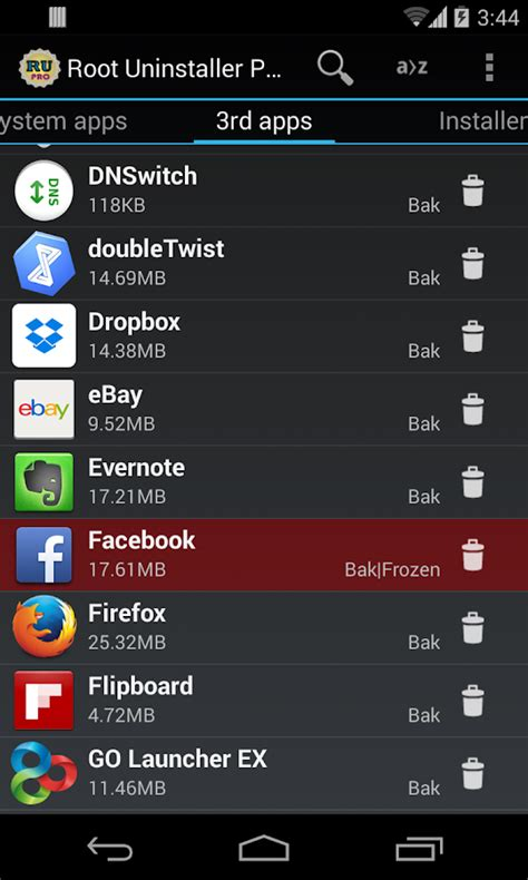 apk uninstaller root uninstaller android apps on play