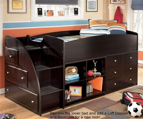 Low Loft Bed For 3 Boys Beds Pinterest Embrace Loft Caster Bed