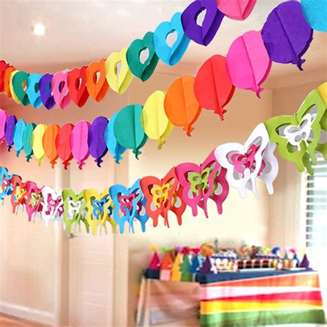 Rainbow Hanging Decoration hanging birthday decoration aliexpress buy rainbow colors