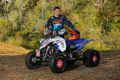 atv motocross racing yamaha announces 2015 atv race team dirt wheels magazine