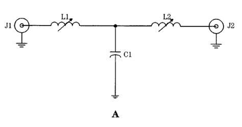 high pass filter lc circuit lc rf filter circuits low pass filters