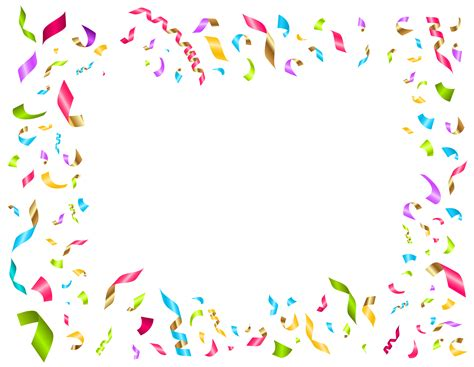 Confetti Decorations by 15 Confetti Clipart Birthday For Free On
