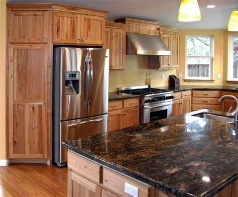 hton natural hickory kitchen cabinets kitchen cabnits hickery custom hickory kitchen remodel