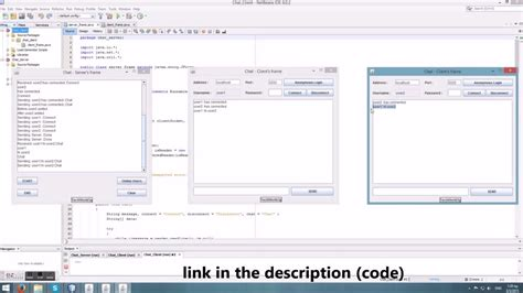 java chat room java multi client server chat application using sockets in netbeans