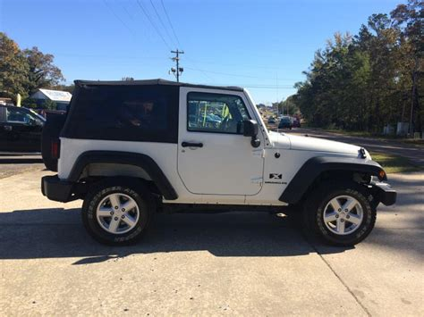 Jeep Wrangler For Sale Alabama 2007 Jeep Wrangler For Sale In Alabama Carsforsale