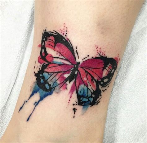 butterfly tattoo uk 12 best watercolor butterfly tattoos for women images on