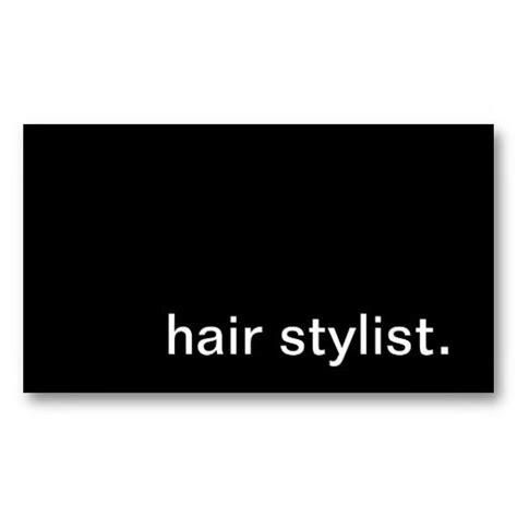 hair stylist business card templates 19 best hair stylist business cards images on