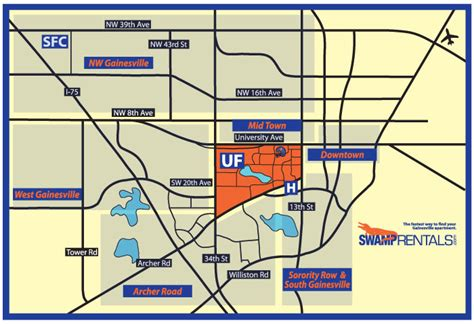 gainesville map apartment rentals in gainesville fl