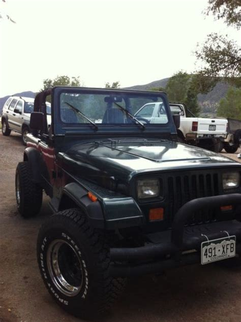 4cyl Jeep Wrangler Mpg Jeep Wrangler 1994 6 Cylinder 4 0 For Sale Jeep Wrangler