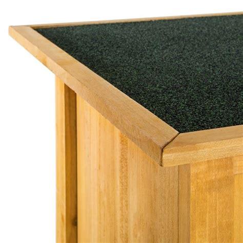 armadietto per esterno armadietto in legno da esterno porta attrezzi per giardino