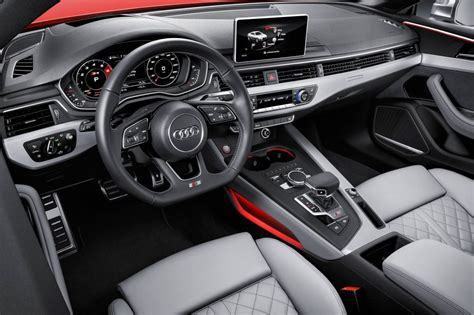 Audi S5 Interior by 2017 Audi A5 S5 Unveiled New Platform Lighter Weight