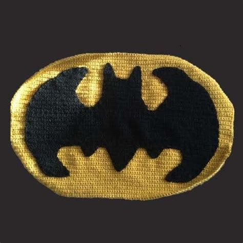 crochet pattern batman logo batman crochet projects the very best collection