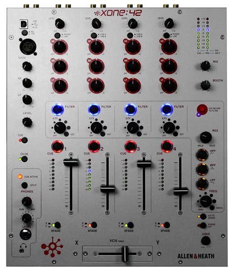 Allen Heath Dj Mixer Xone 42 by Mixer Dj Allen Heath Xone 42 3 449 00ron Partysound