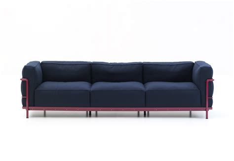 lc2 couch lc2 sofa by cassina stylepark