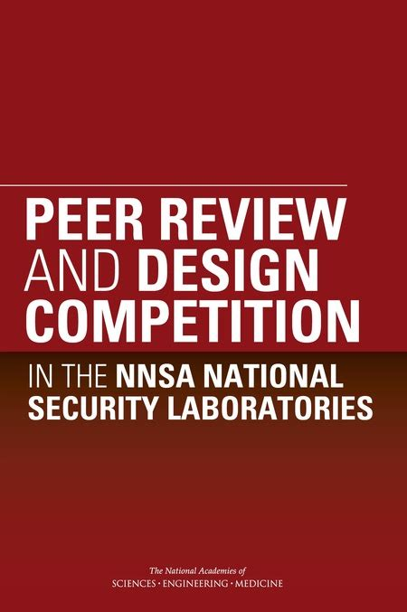design contest reviews peer review and design competition in the nnsa national