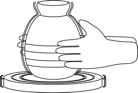 coloring earthen pots clay jar coloring pages
