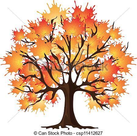 maple tree drawing autumn tree maple