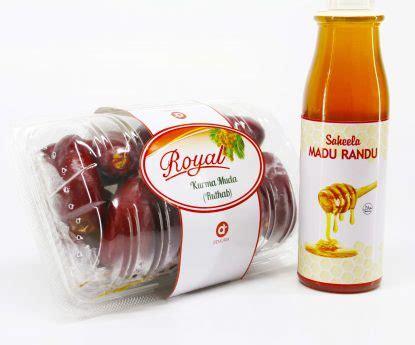 Madu Murni Untuk Ibu Menyusui 1kg Murah paket promil kurma muda merah 500 gram dan madu murni 340 gr kurma royal dates