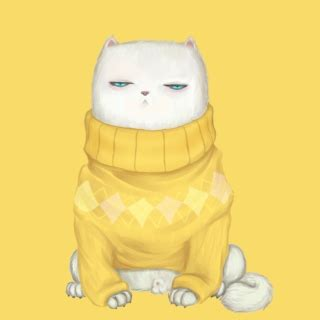 Sweater Panda Kuning hamster in on your screen wallpaper for samsung m130