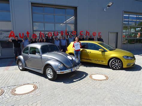 Vw Werkstatt Bewertung by Auszeichnung Im Service Autohaus Lacher