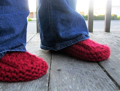free knit slipper boot pattern pin by sterlie epperson wallace on knitting and crochet