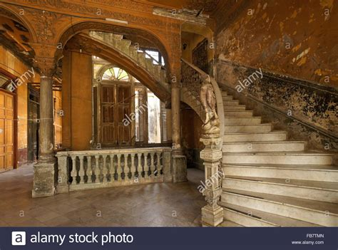 marble staircase marble staircase and statue in la mansion camaguey la