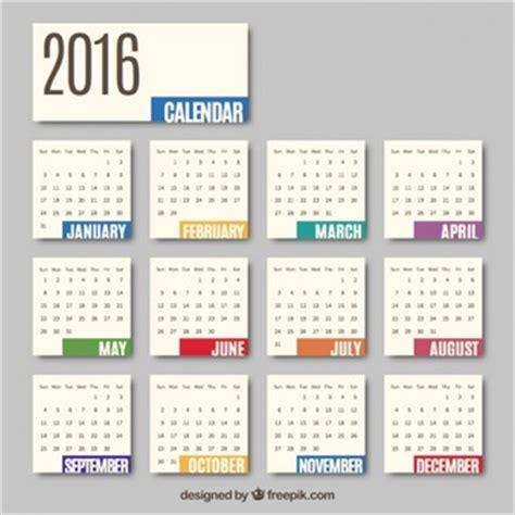 Calendar Months Calendar Vectors Photos And Psd Files Free